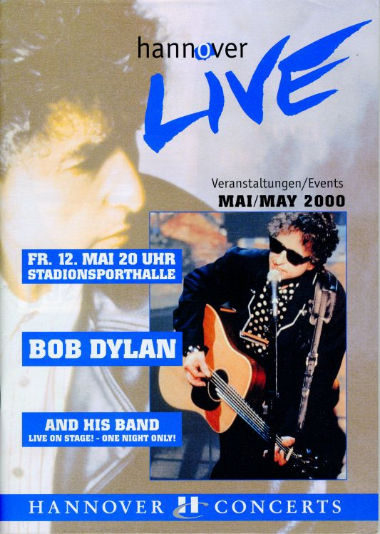 hannover live magazine Bob Dylan cover story