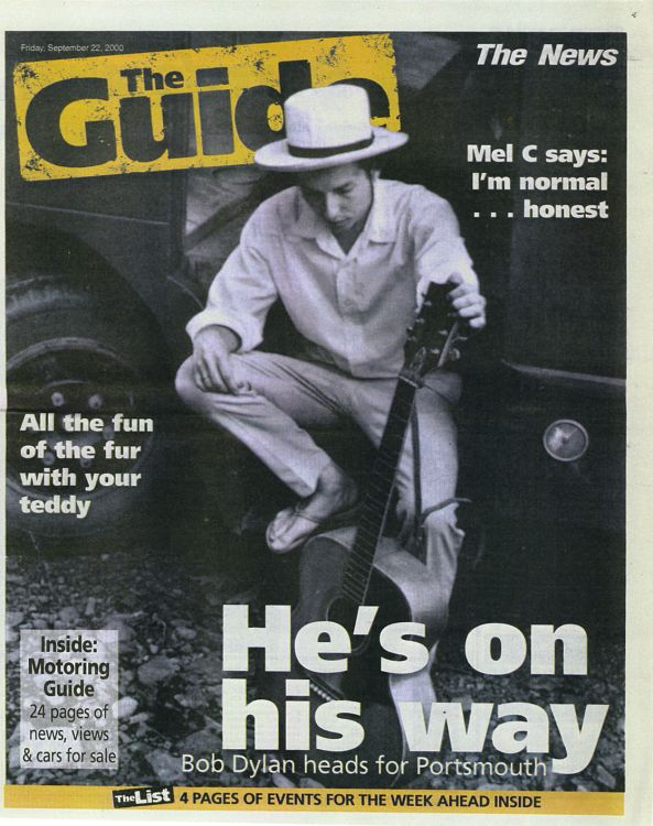 the guide uk magazine Bob Dylan cover story
