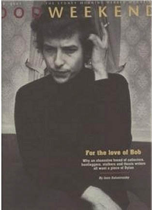 good week end magazine Bob Dylan cover story