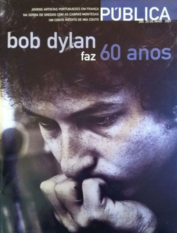 publica portugal magazine Bob Dylan cover story