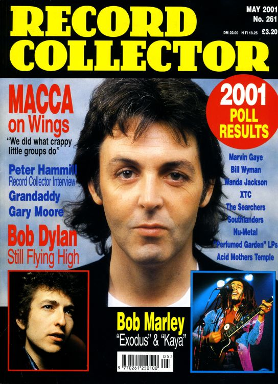 record collector magazine #261 uk Bob Dylan cover story