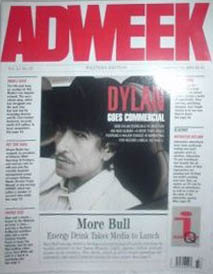 ad week magazine Bob Dylan cover story