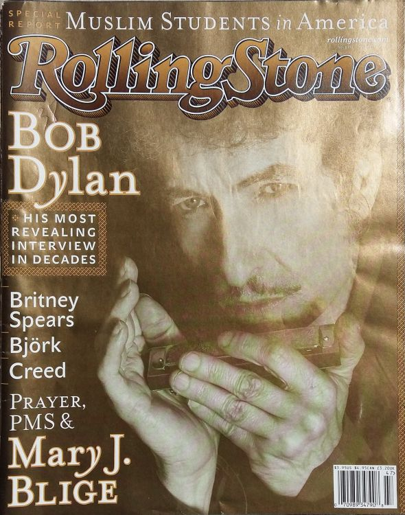Rolling Stone US #881 magazine Bob Dylan cover story
