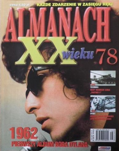 almananch polish magazine Bob Dylan cover story