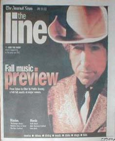the line magazine Bob Dylan cover story