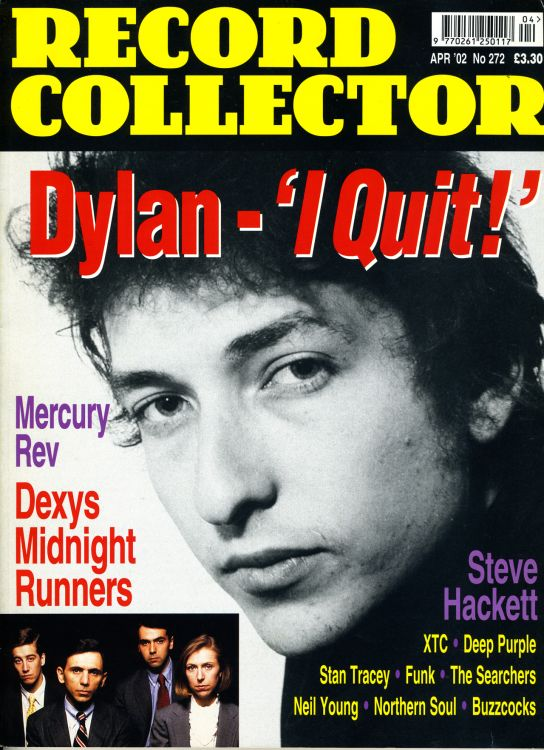 record collector magazine #272 uk Bob Dylan cover story