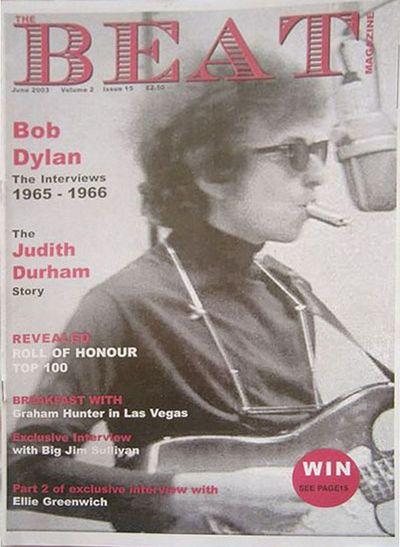 the beat uk magazine Bob Dylan cover story