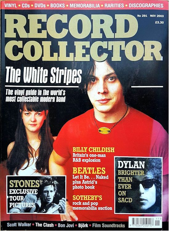 record collector magazine #291 uk Bob Dylan cover story