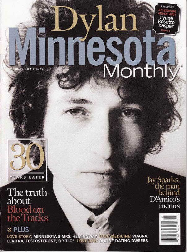 minnesota monthly magazine Bob Dylan cover story