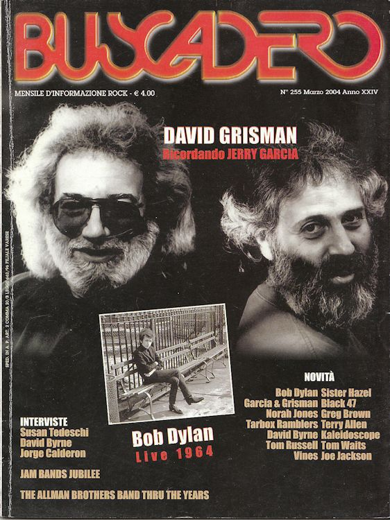 Buscadero magazine 255 Bob Dylan cover story
