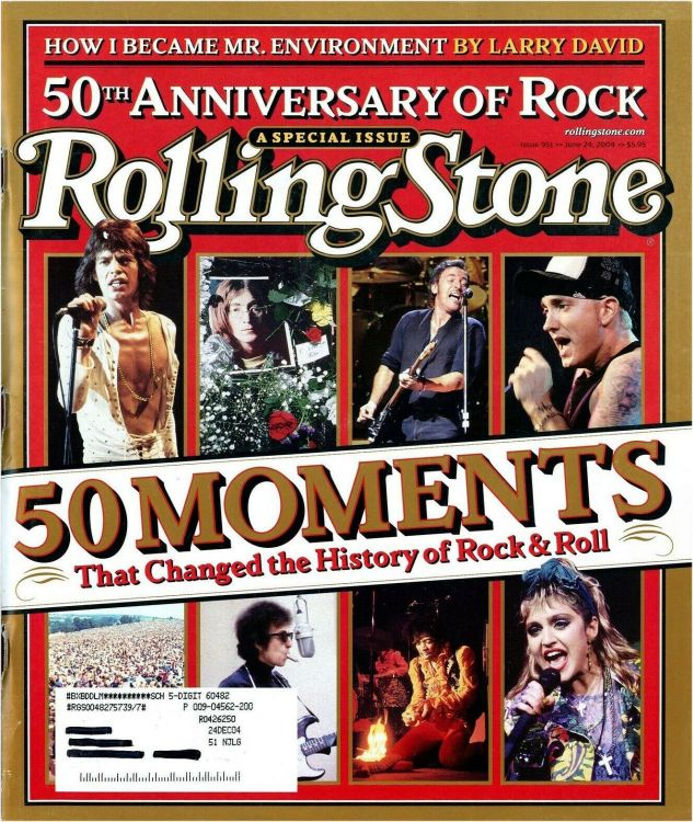 Rolling Stone US magazine June 2004 special Bob Dylan cover story