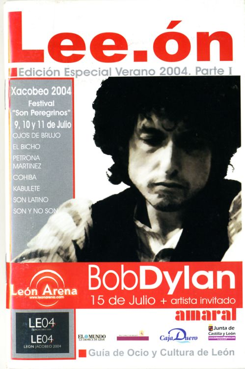 lee-on magazine Bob Dylan cover story