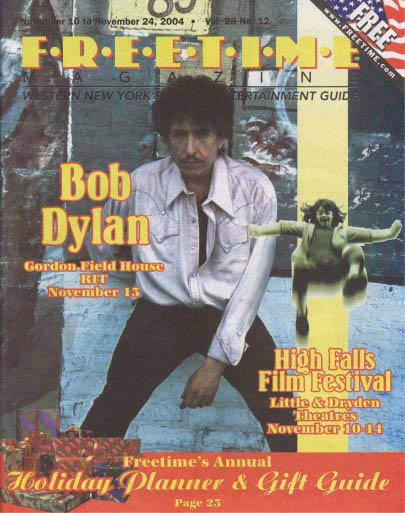 free time volume 28 #12 magazine Bob Dylan cover story
