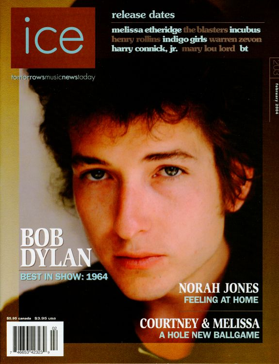 ice 2004 magazine Bob Dylan cover story
