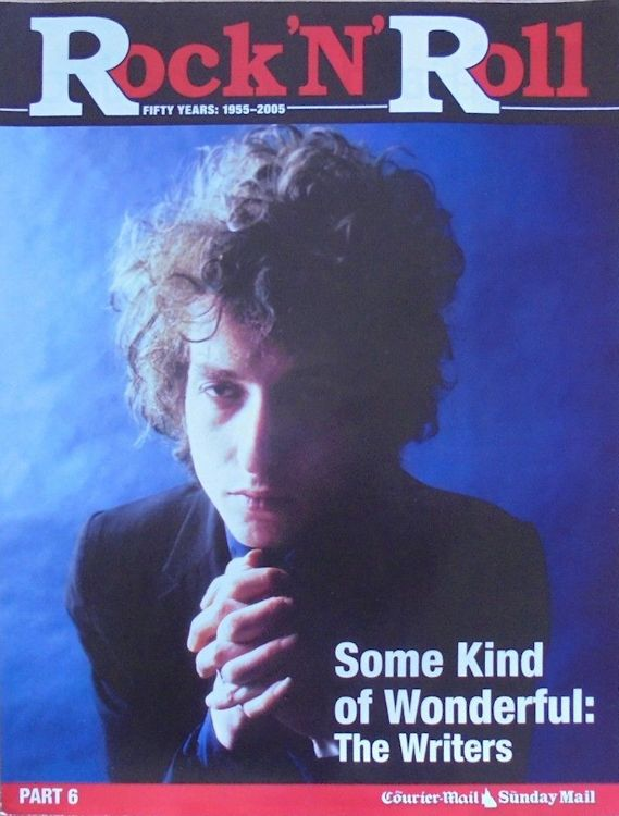 courrier mail supplement rock'n'roll magazine Bob Dylan cover story