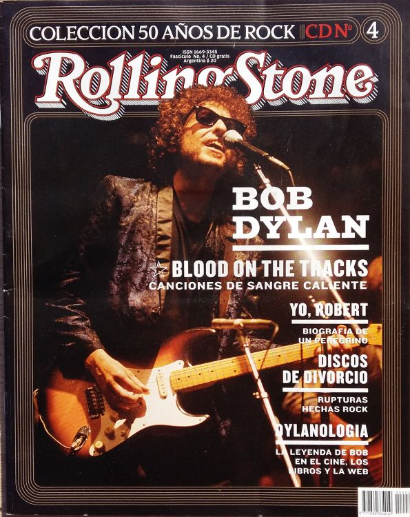 rolling stone magazine argentina 2005 special Bob Dylan cover story