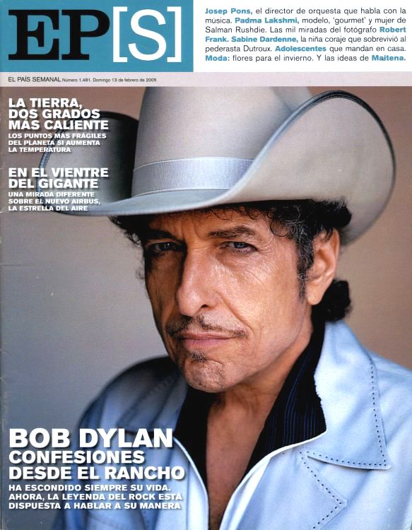 ep magazine 2005 Bob Dylan cover story