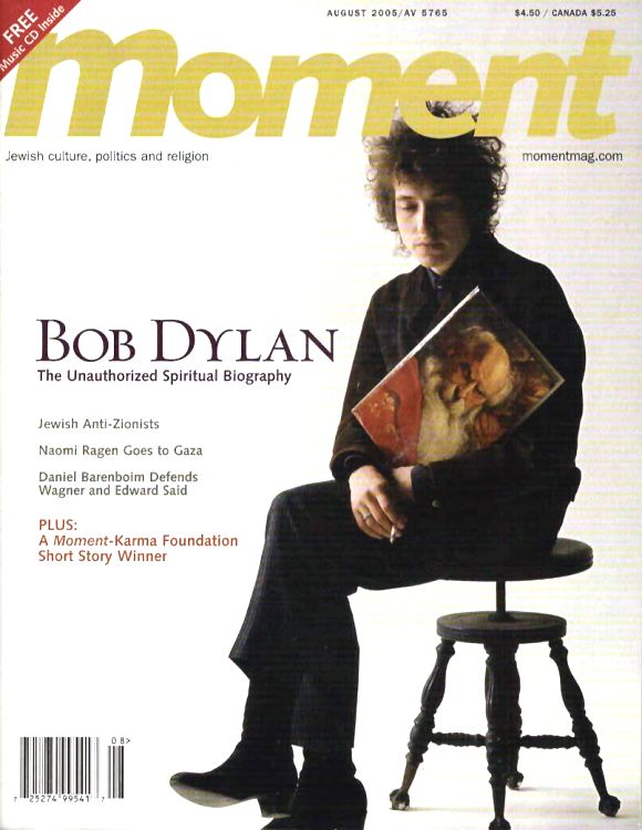 moment USA magazine Bob Dylan cover story