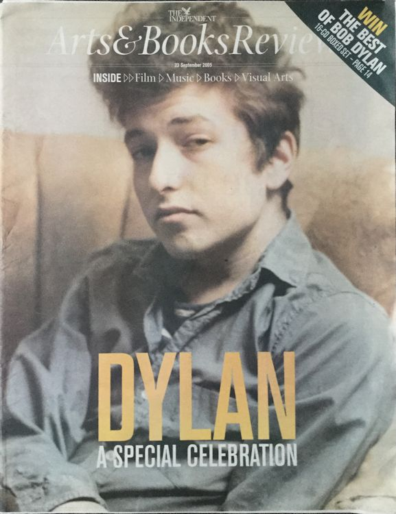 the independant arts & books review magazine Bob Dylan cover story