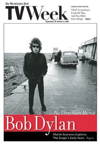 the washington Post tv week Bob Dylan cover story
