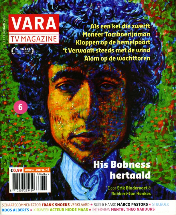 vara tv magazine February 2006 Bob Dylan cover story