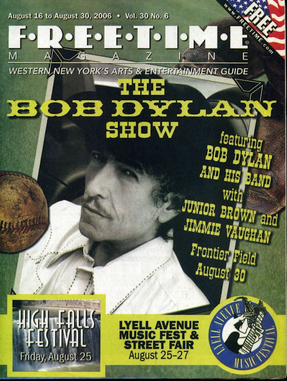 free time volume 30 #6 magazine Bob Dylan cover story
