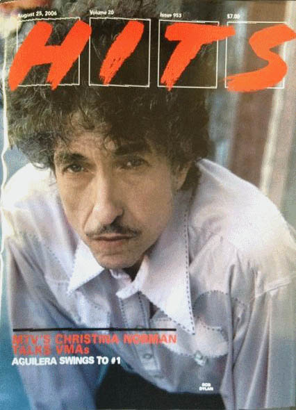 hits 2006 magazine Bob Dylan cover story