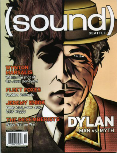 seattle sound magazine Bob Dylan cover story