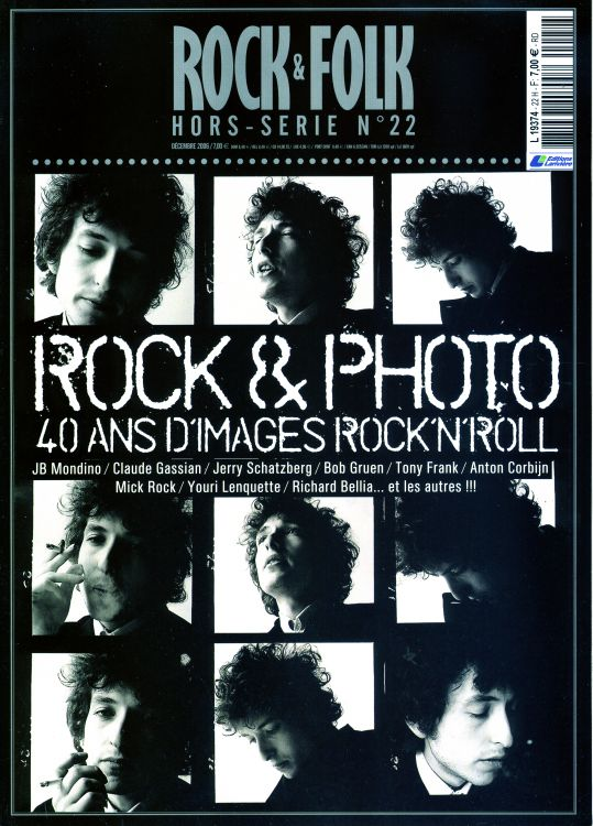 rock & folk magazine france  hors rerie #22 Bob Dylan cover story