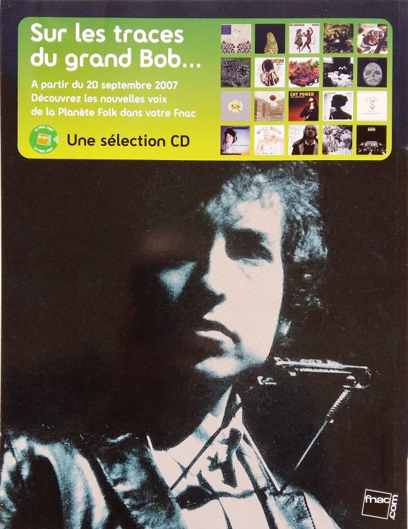 Les Inrocks 2007 magazine back Bob Dylan cover story