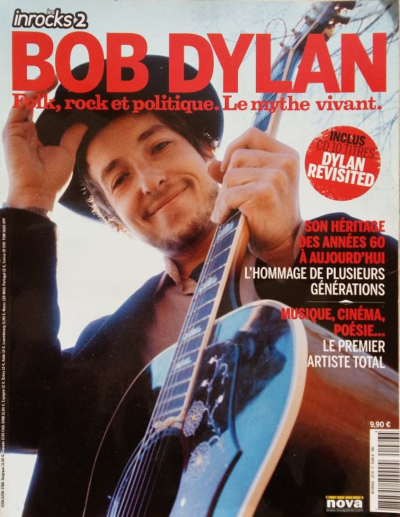 Les Inrocks 2007 magazine Bob Dylan cover story