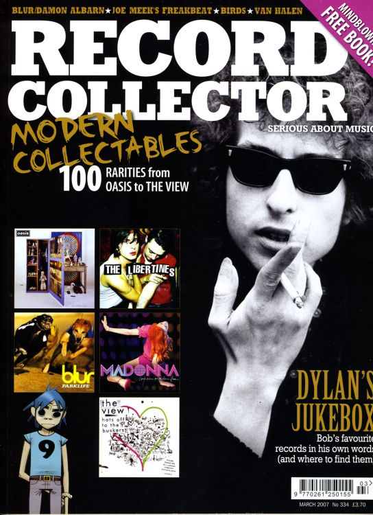 record collector magazine #334 uk Bob Dylan cover story