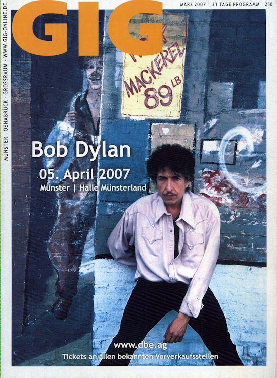 gig germany magazine Bob Dylan cover story