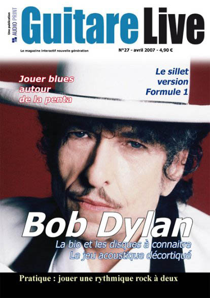guitar life magazine Bob Dylan cover story