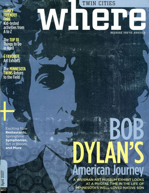 where twin cities magazine Bob Dylan cover story