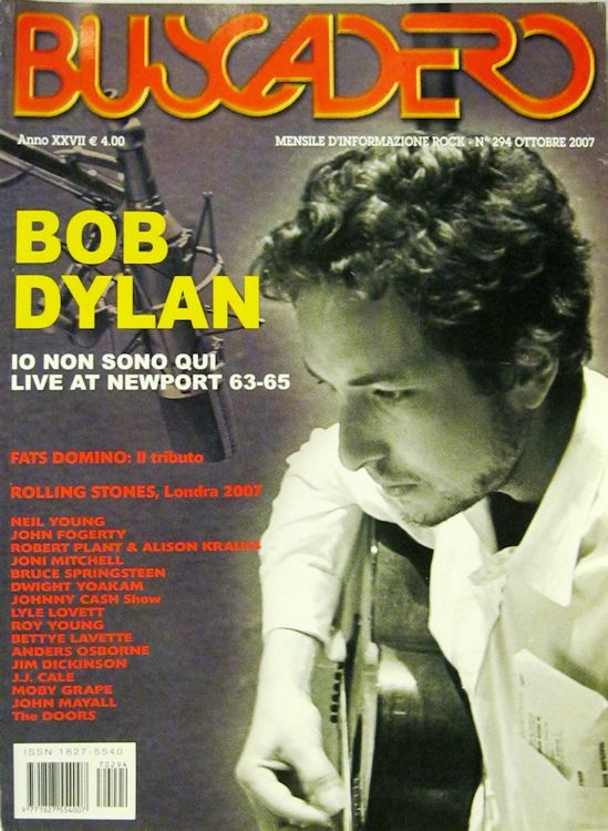 Buscadero magazine 294 Bob Dylan cover story