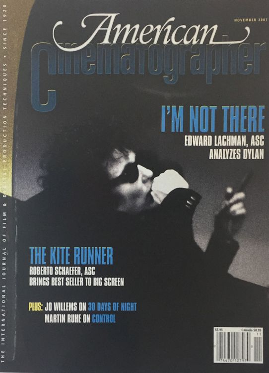 American Photographer magazine Bob Dylan cover story