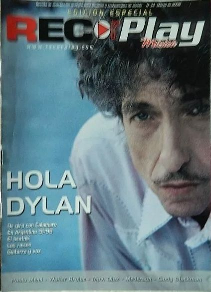 Rec or Play magazine Bob Dylan cover story