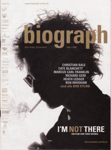 biograph magazine germant Bob Dylan cover story