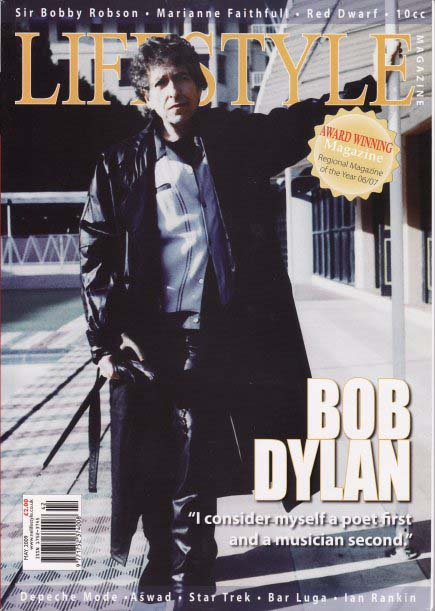 lifestyle magazine Bob Dylan cover story