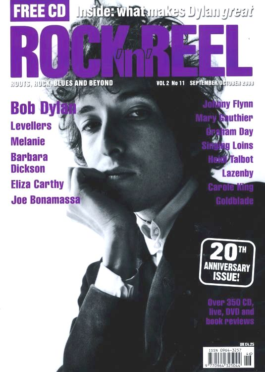 rock'n'reel magazine Bob Dylan cover story