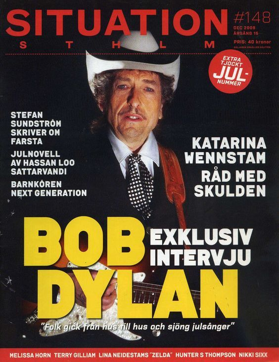 situation magazine Bob Dylan cover story