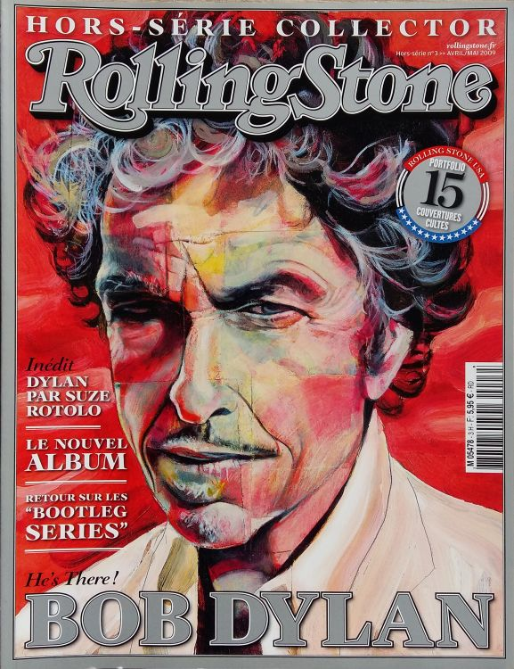 rolling stone magazine france 2009 hors serie  Bob Dylan cover story
