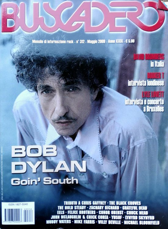 Buscadero magazine 312 Bob Dylan cover story