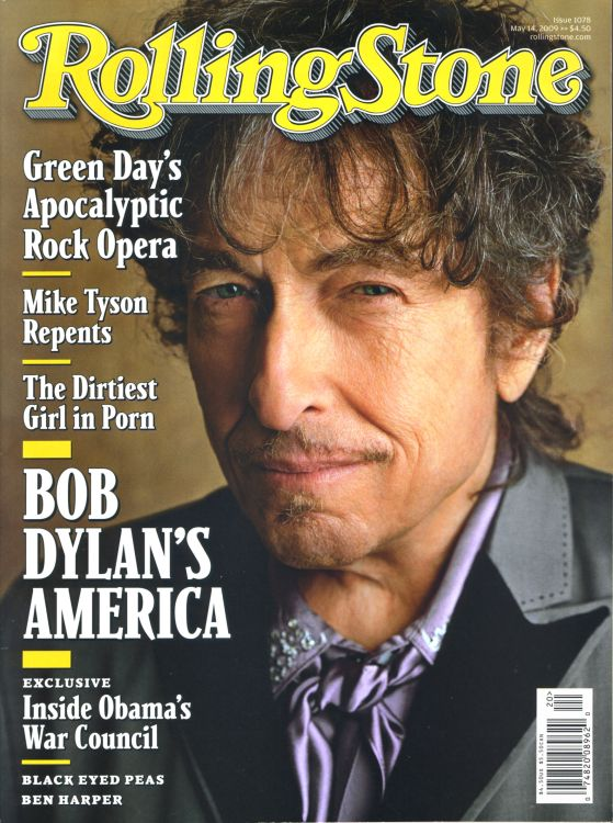 Rolling Stone US magazine 14 may 2009 Bob Dylan cover story