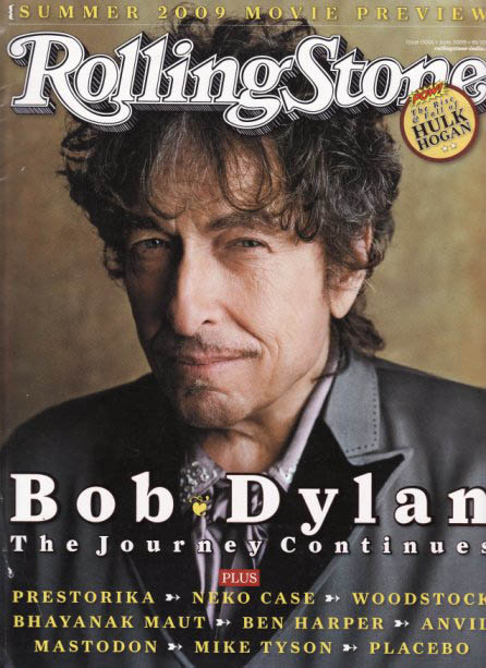 rolling stone magazine india June 2009 Bob Dylan cover story
