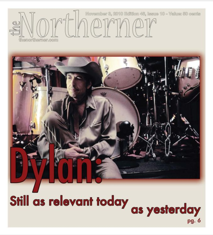 the northerner magazine Bob Dylan cover story