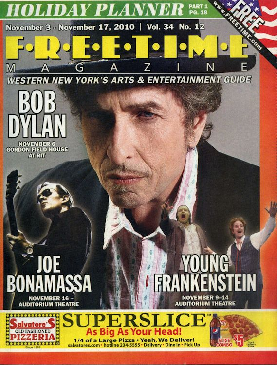 free time volume 34 #12 magazine Bob Dylan cover story