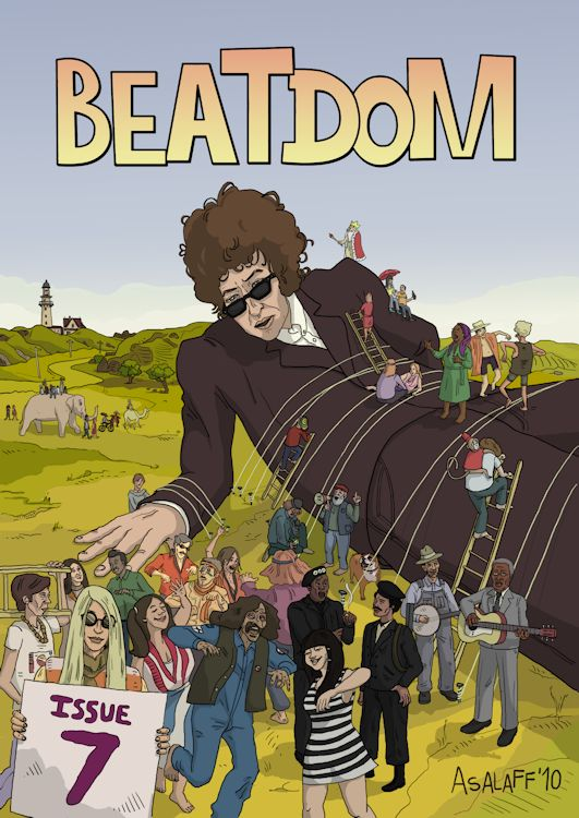 beatdom japan magazine Bob Dylan cover story