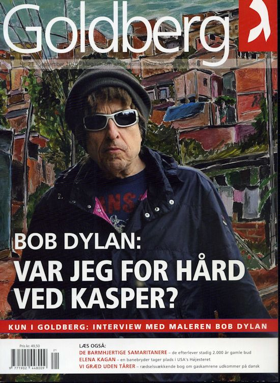goldberg magazine Bob Dylan cover story
